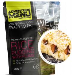 Adventure Menu Rýžový nákyp se švestkami 1 porce 250 g sterilované jídlo na cesty