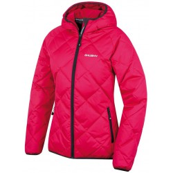 Husky Form L růžová dámská zimní sportovní péřová bunda