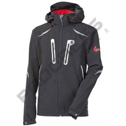 Progress Kailas černá pánská voděodolná softshellová bunda 10000