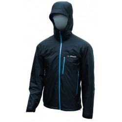 Pinguin Alaska Jacket černá/petrolejová pánská zimní nepromokavá bunda A.C.D. membrane 2L