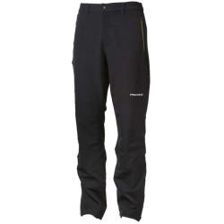 Progress Axcess černá pánské softshellové turistické kalhoty (1)