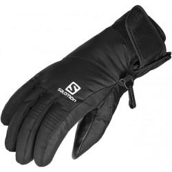 Salomon Odyssey GTX Jr black 383163 dětské lyžařské rukavice