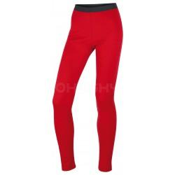Husky Merino 100 Pants L červené dámské merino spodky