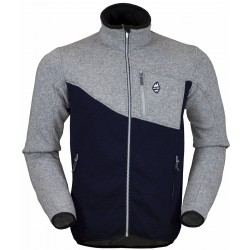 High Point Skywool 2.0 grey/dark blue pánský vlněný svetr Tecnowool
