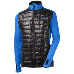 Progress Tux modrá/černá pánská větrudolná bunda částečně zateplená