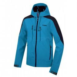 Husky Sevan M modrá pánská softshellová bunda Extend-Pro Softshell 10000