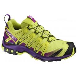 Salomon XA Pro 3D GTX W lime punch/acai 393330 dámské nepromokavé běžecké boty