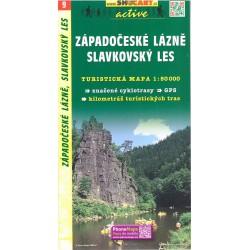 SHOCart 9 Západočeské lázně, Slavkovský les 1:50 000