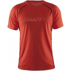 Craft PRIME CRAFT SS TEE M Heat 2569 pánské triko krátký rukáv
