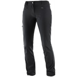 Salomon Wayfarer Pant W black 392986 dámské lehké turistické kalhoty