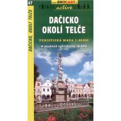 SHOCart 47 Dačicko, okolí Telče 1:50 000 turistická mapa