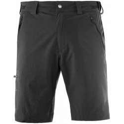 Salomon Wayfarer Short M black 393181 pánské lehké softshellové šortky