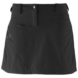 Salomon Wayfarer Skirt W black 328514 dámská lehká softshellová sukně