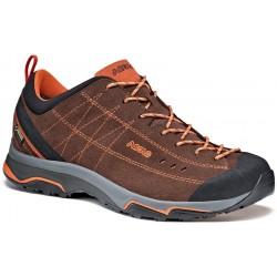 Asolo Nucleon GV MM GTX root/arabesque pánské nízké nepromokavé kožené boty