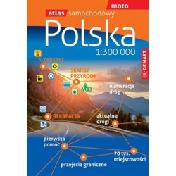 DEMART Polsko 1:300 000 autoatlas (1)