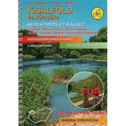 Frigoria Kisalföld és környéke/Malá dunajská kotlina 1:80 000 cykloprůvodce