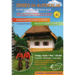 Frigoria Őrség és Alpokalja 1:80 000 cykloprůvodce