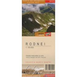Schubert a Franzke MN03 Rodnei/Rodna 1:55 000 turistická mapa