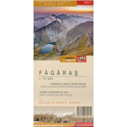Schubert a Franzke MN07 Fagaras/Fagaraš 1:75 000/1:35 000 turistická mapa