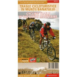 Schubert a Franzke MB02 Cycling Trails in the Banat Mountains 1:60 000 cykloprůvodce (1)