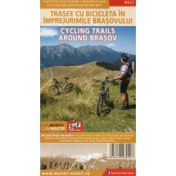 Schubert a Franzke MB03 Cycling Trails Around Brasov 1:60 000 cykloprůvodce (1)