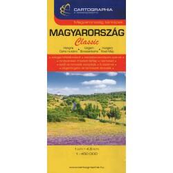 Cartographia Maďarsko 1:450 000 automapa