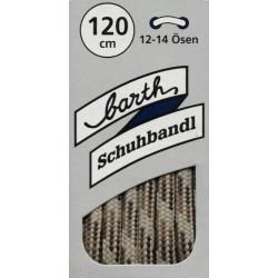 Barth Sport Extra Dick Rund Bunt kulaté extra silné/120 cm/barva 731 tkaničky do bot