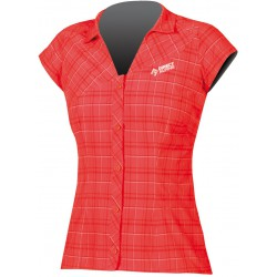 Direct Alpine Sandy red dámská košile krátký rukáv
