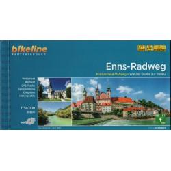 Bikeline Enns-Radweg/Enžská cyklostezka 1:50 000 cykloprůvodce