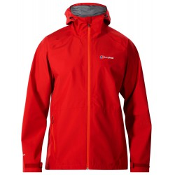 Berghaus Paclite 2.0 Shell Jacket M dark red pánská nepromokavá bunda Gore-Tex Paclite