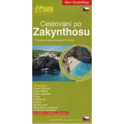 ORAMA Cestování po Zakynthosu 1:130 000 turistická mapa + průvodce