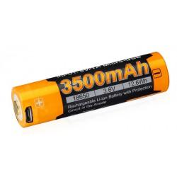 Fenix USB Li-Ion 18650 3500 mAh nabíjecí baterie