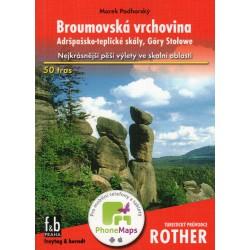 Freytag a Berndt Broumovská vrchovina, Adršpašsko-teplické skály průvodce Rother