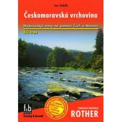 Freytag a Berndt Českomoravská vrchovina průvodce Rother