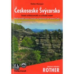 Freytag a Berndt Českosaské Švýcarsko, České středohoří a Lužické hory průvodce Rother