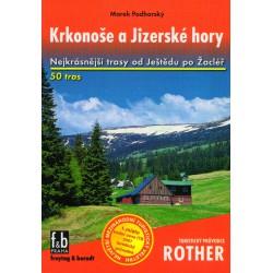 Freytag a Berndt Krkonoše a Jizerské Hory průvodce Rother