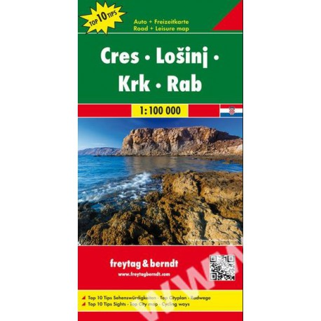 5d02fc1c0 Freytag a Berndt Cres, Lošinj, Krk, Rab 1:100 000 automapa