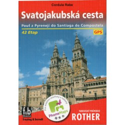Freytag a Berndt Svatojakubská cesta průvodce Rother