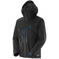 Salomon S-Lab X Alp Pro JKT M black 374850 pánská nepromokavá bunda GORE-TEX® Pro 3L