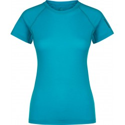 Zajo Elsa Merino W T-shirt SS curacao dámské triko krátký rukáv Merino vlna
