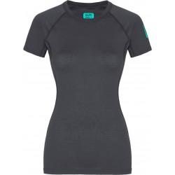 Zajo Elsa Merino W T-shirt SS gray dámské triko krátký rukáv Merino vlna