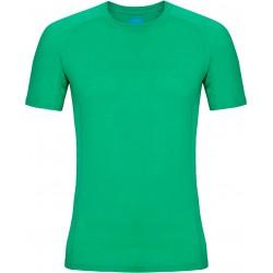 Zajo Bjorn Merino T-shirt SS bright green pánské triko krátký rukáv Merino vlna