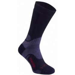 Bridgedale WoolFusion Trekker black trekové ponožky Merino vlna