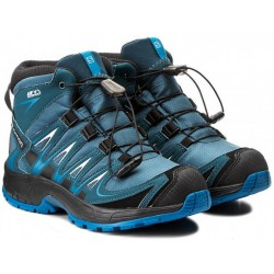 Salomon XA Pro 3D Mid CSWP K mallard blue/r. pond 398532