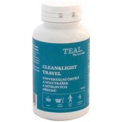 Teal Clean and Light travel univerzální čistící a mycí prášek z mýdlových ořechů 1