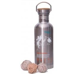 Teal Sport Merino 1l nerezová lahev prací gel z mýdlových ořechů na vlnu a merinovlnu
