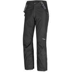 Husky Broder černá pánské nepromokavé zimní lyžařské kalhoty Aquablock Plus