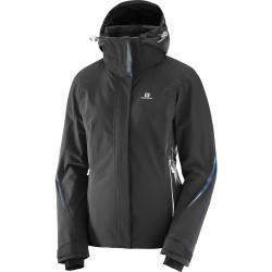 Salomon Brilliant Jacket W black 396879 dámská nepromokavá zimní lyžařská bunda 20000