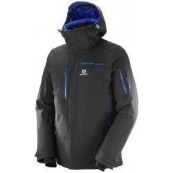 Salomon Brilliant Jacket M black 397294 pánská nepromokavá zimní lyžařská bunda 20000