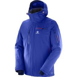 Salomon Brilliant Jacket M surf the web 397298 pánská nepromokavá zimní lyžařská bunda 20